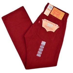 RED LEVI 501 XX JEANS 🔴